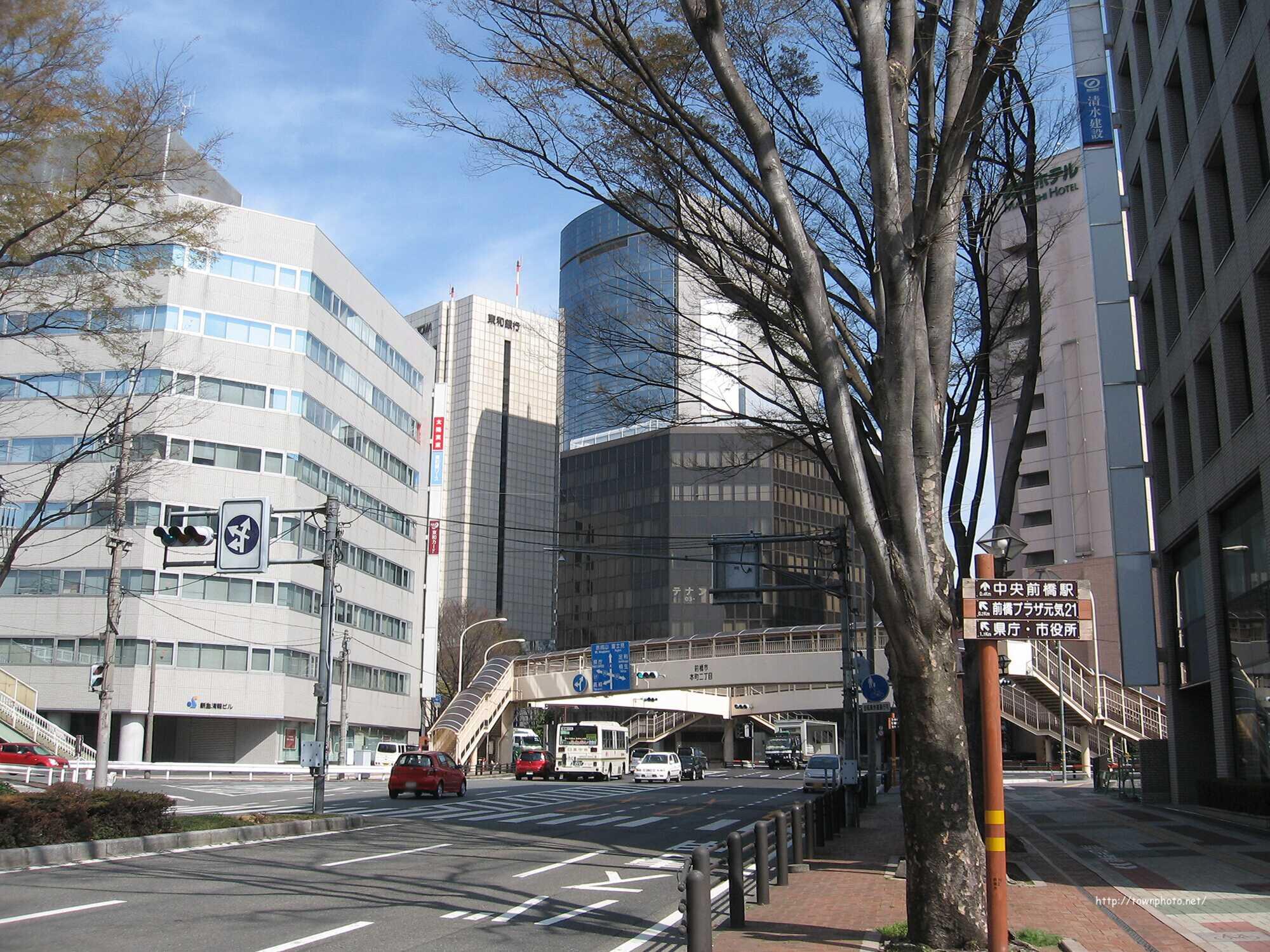 前橋市の繁華街や主要スポット 要約まとめ - townphoto.net