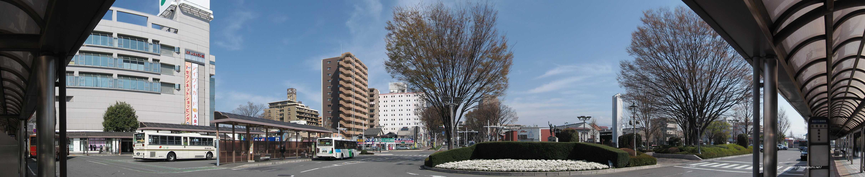 (写真64枚)JR前橋駅から銀座通り入口・けやきウォークまで