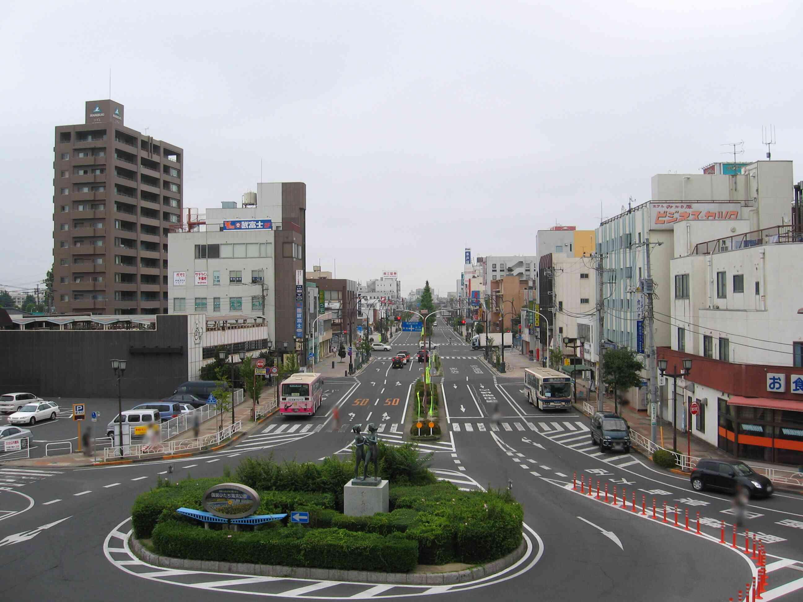茨城県ひたちなか市の中心街 勝田駅周辺の紹介(写真45枚)