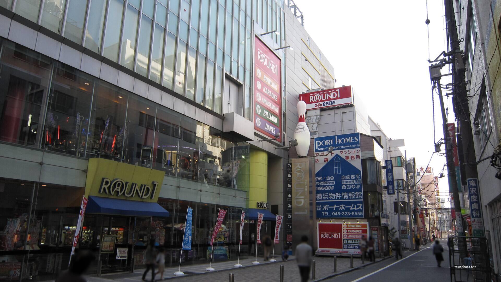 ラウンド ワン 横浜 西口