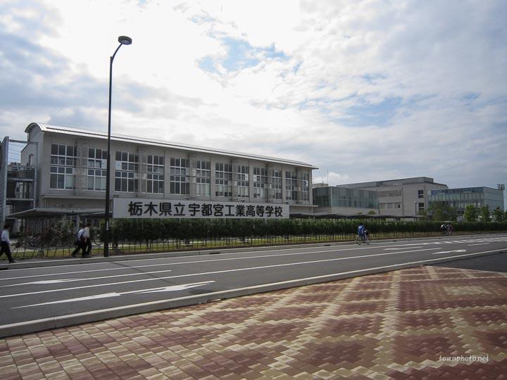 (写真40枚)雀宮の紹介 その3 - 駅東口・宇都宮工業高校・南図書館