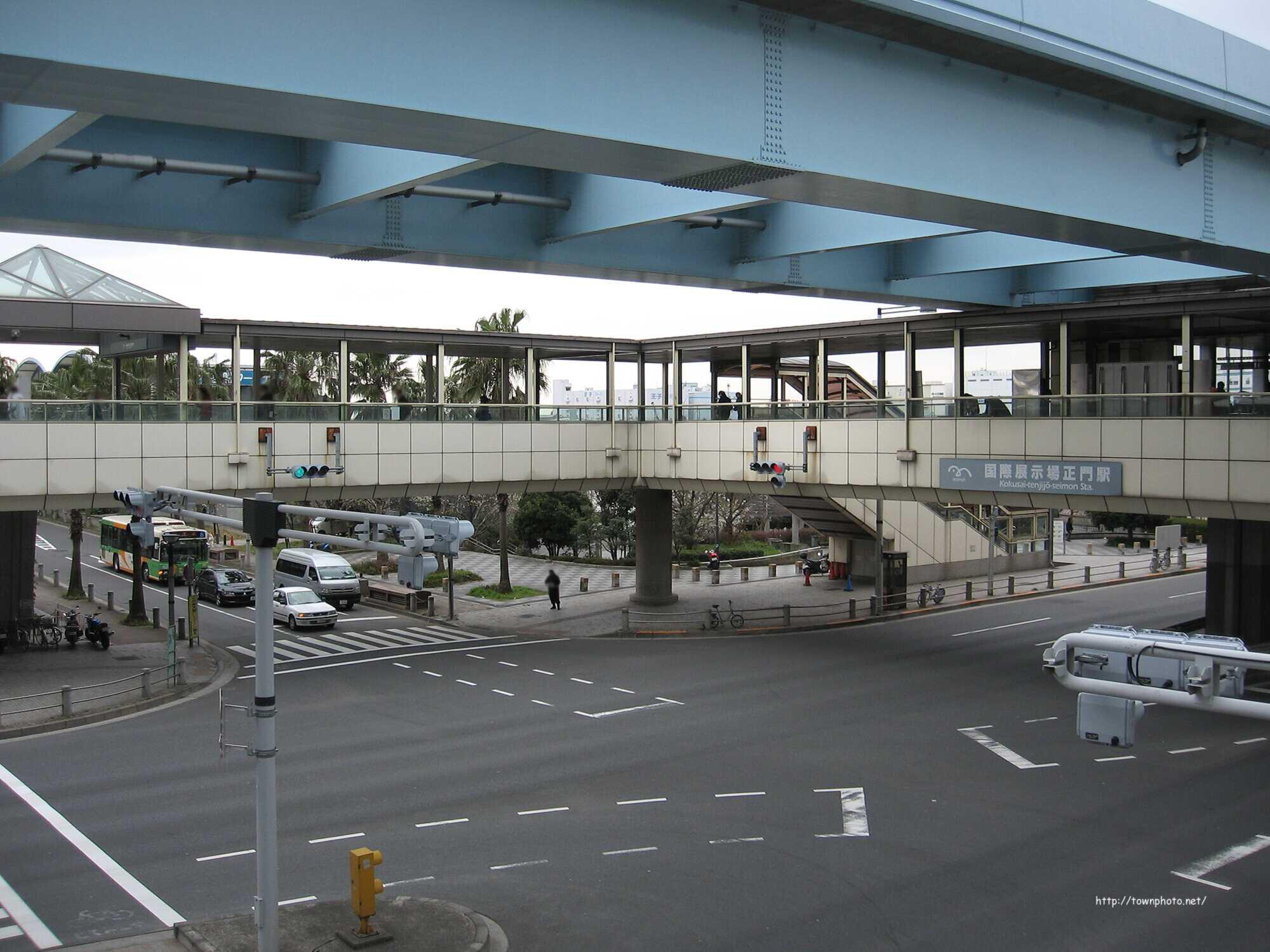 写真38枚)国際展示場正門駅・東...