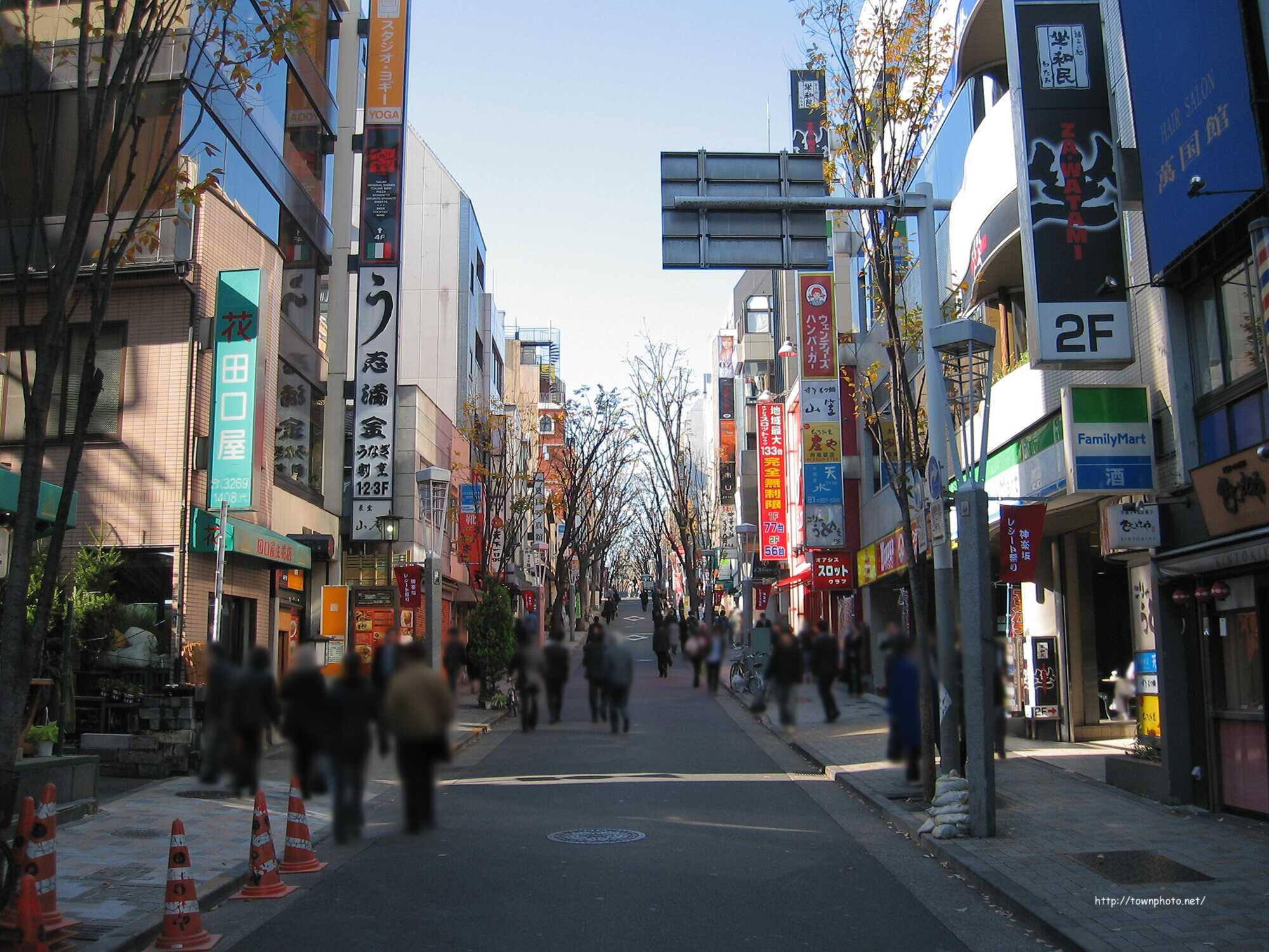 東京都新宿区 神楽坂の紹介(写真70枚) 本多横町など