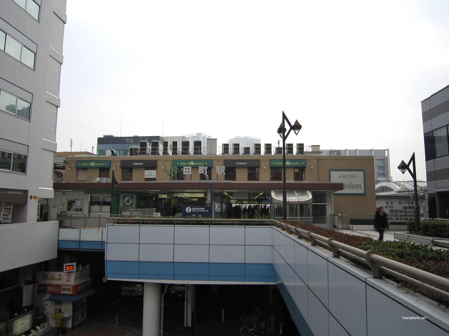 JR田町駅西口・森永製菓本社前の...